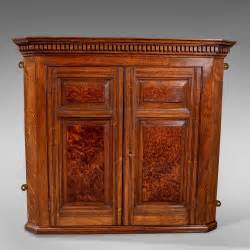 Cabinet Cupboard by Antique Small Corner Wall Cabinet Cupboard Oak Antiques
