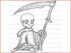 Cool Grim Reaper Drawings in Pencil