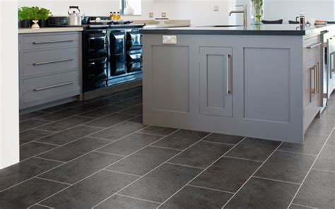 grey slate tiles kitchen kitchen dining cavalio flooring 4089