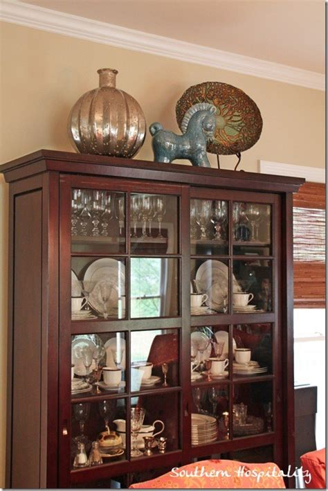 how to decorate a china cabinet living room makeover on a budget