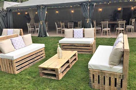 pallet furniture hire attractive event furniture