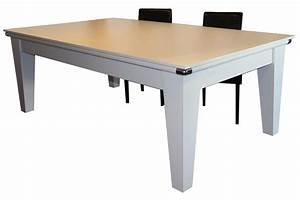 Table À Manger Billard : table de billard transformable en salle a manger billard pool york dbjl dbjl dart ~ Melissatoandfro.com Idées de Décoration