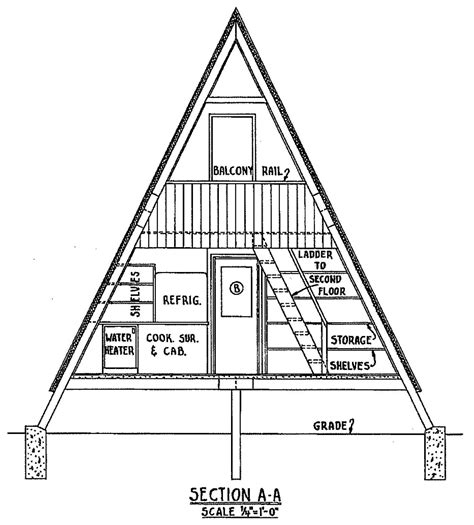 a frame cabin plans free free a frame cabin plan with 3 bedrooms