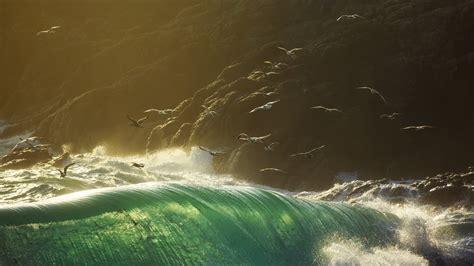 Las terroríficas olas de 20 metros de alto que son más ...