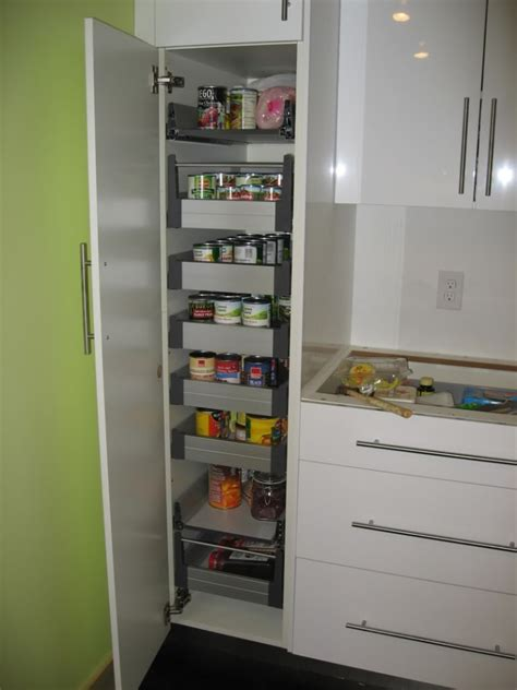 pull out kitchen storage ideas pics section slide shelves kitchen cabinets pantry