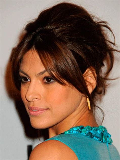 style hair with bangs how to style side swept bangs hairstyles 9359