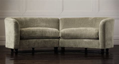 curved sofa ashley furniture astoria upholstered small curved sofa modern sofas