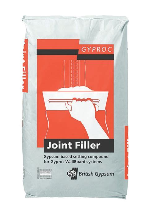 Gyproc Joint filler 12.5kg   Departments   DIY at B&Q