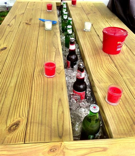 picnic cooler table totally cool cool tables picnic
