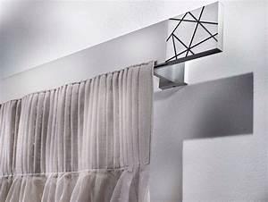 Rideaux Design Contemporain : tringle rideau en aluminium de style contemporain ~ Teatrodelosmanantiales.com Idées de Décoration