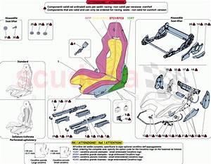 Ferrari F12 Berlinetta Racing Seat Parts