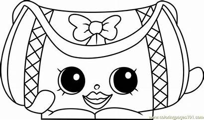 Shopkins Coloring Pages Coloringpages101 Toys