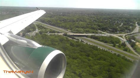 Frontier Airlines Landing Trenton Mercer Airport (TTN ...