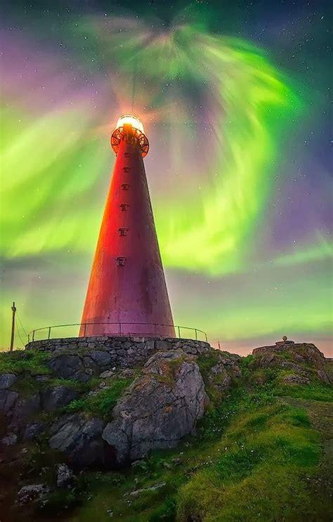 Norway Aurora Borealis Lighthouse