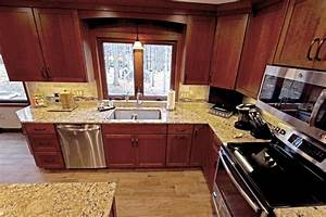 Cherry Cabinets with Quartz Countertop ~ Strongsville, OH