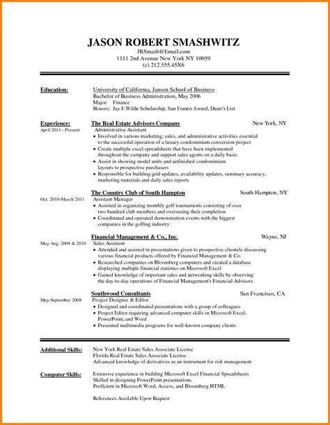 Document Resume Format by Resume Format Word Document Ledger Paper