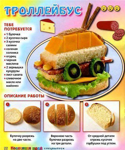 Вкусно и красиво идеи оформления ежедневных детских блюд ~ Я happy МАМА