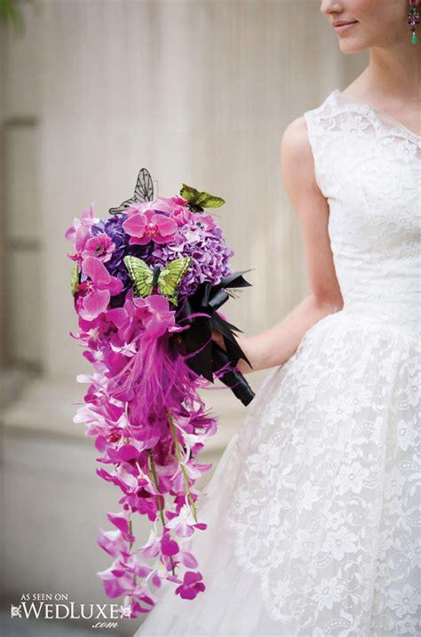 wedding trends cascading flowers  wedding blog