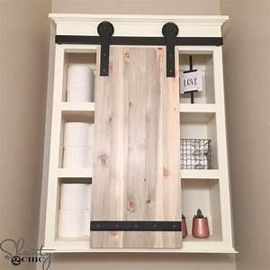 best 25 bathroom storage cabinets ideas on pinterest With barn door style medicine cabinet