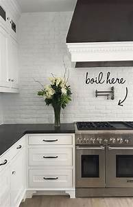 30 awesome kitchen backsplash ideas for your home 2017 With kitchen colors with white cabinets with how to make monogram stickers at home