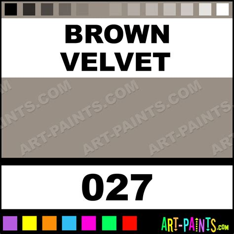 brown velvet shimmered suede metal paints and metallic