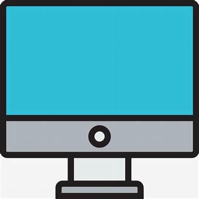 Computer Monitor Cartoon Desktop Clipartmag