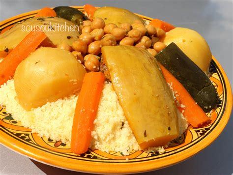 cuisine couscous traditionnel recette de couscous au boeuf كسكس بلحم البقر couscous with beef sousoukitchen