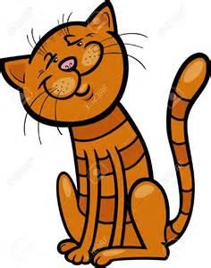Orange Tabby Cat Cartoon