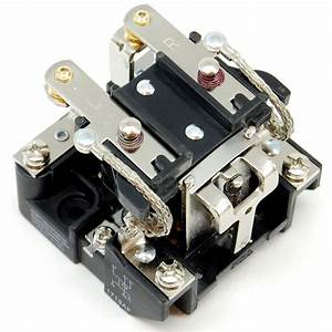 30a  240v Dpdt Or Dpst Relay With 110-120v Ac Coil