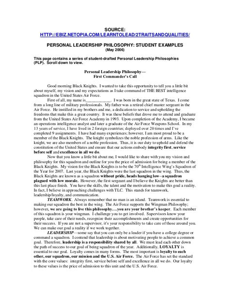 Resume Statements On Leadership by Buy Original Essays Personal Statement Exles