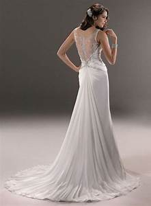 2014 new chiffon white ivory wedding dress bridal gown With wedding dresses size 12 14