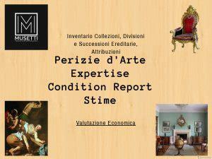Perizia Beni Mobili by Condition Report Valutazione Opere Perizia Valutazione
