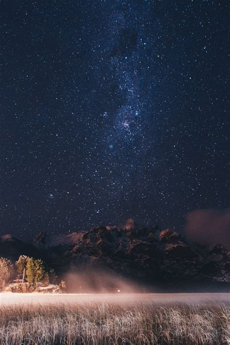 Stars The Patagonian Lake Photo Guille Pozzi