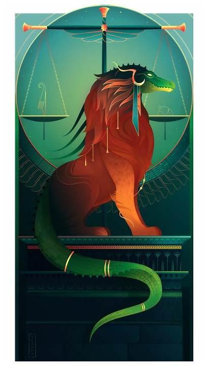 Mythology Egyptian Ammit Egypt Gods Deviantart Yliade