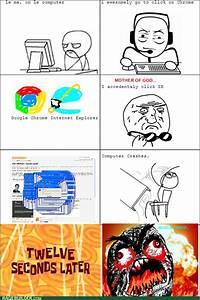Funny Rage Comics Internet Explorer Meme | Rage Comics ...