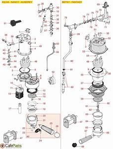 Rancilio Silvia Parts Diagram