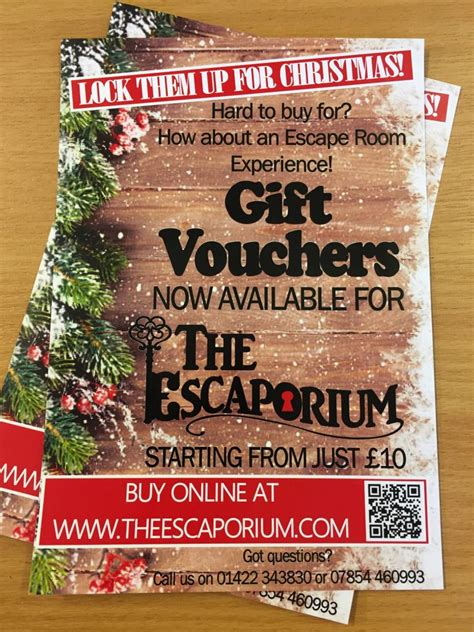 gift vouchers  escaporium escape room halifax