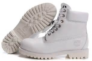 All White Timberland Boots Men