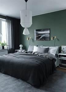 Grau Grün Wandfarbe : so setzen sie gr n effektvoll ein deco home ~ Frokenaadalensverden.com Haus und Dekorationen