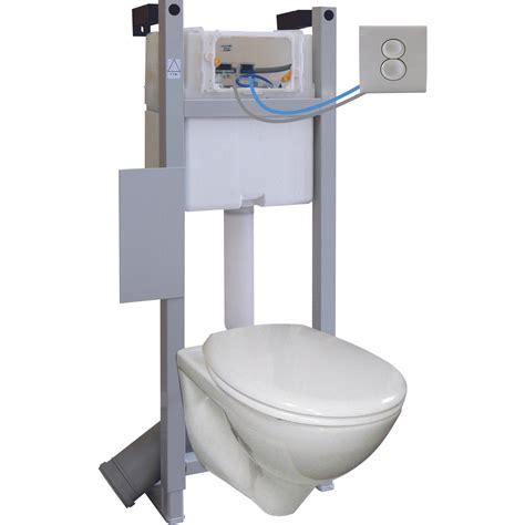 leroy merlin toilette suspendu pack wc suspendu pmr 7 regiplast leroy merlin
