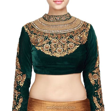 high neck blouse high neck blouse designs pictures to pin on
