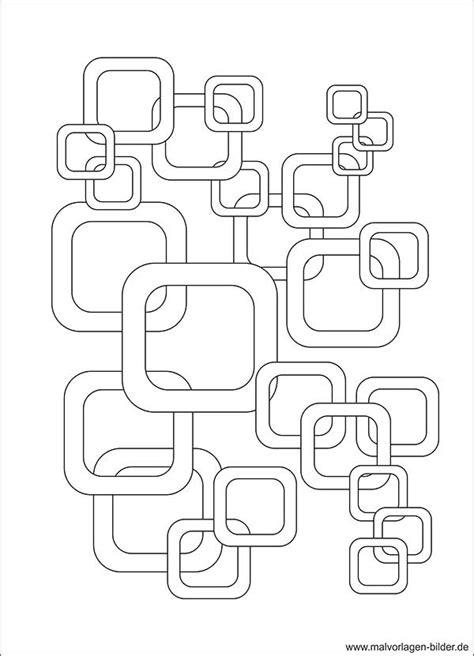 retro design kreative malvorlage zum ausdrucken
