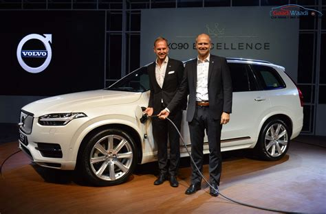 volvo xc excellence  plug  hybrid launched  rs