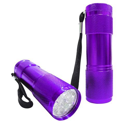 bulk buy 4 x mini led torch purple ebay