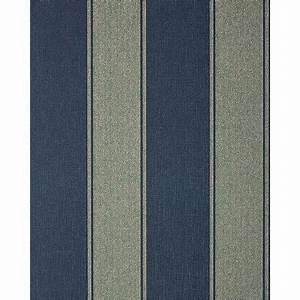 Papier Peint Rayé : papier peint n o baroque edem 753 37 ray pr cieux bleu platine dor ~ Melissatoandfro.com Idées de Décoration