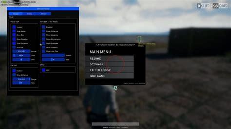 pubg esp pubg hack undetected esp aimbot no recoil unlimited