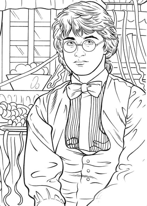harry potter coloring pages    print