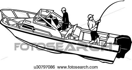 motor boat clipart black and white fishing boat clip black and white