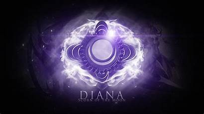 Legends League Diana Wallpapers Symbol Lol Icon