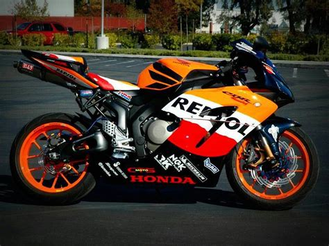 I Have Always Loved The Design On The Honda Repsol Bike